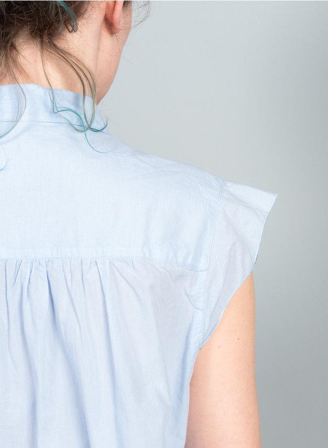 Silsbee blouse  lichtblauw