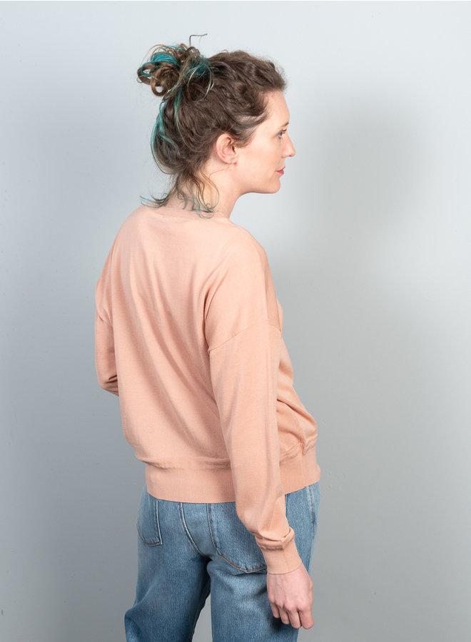 Arofle vest  roze