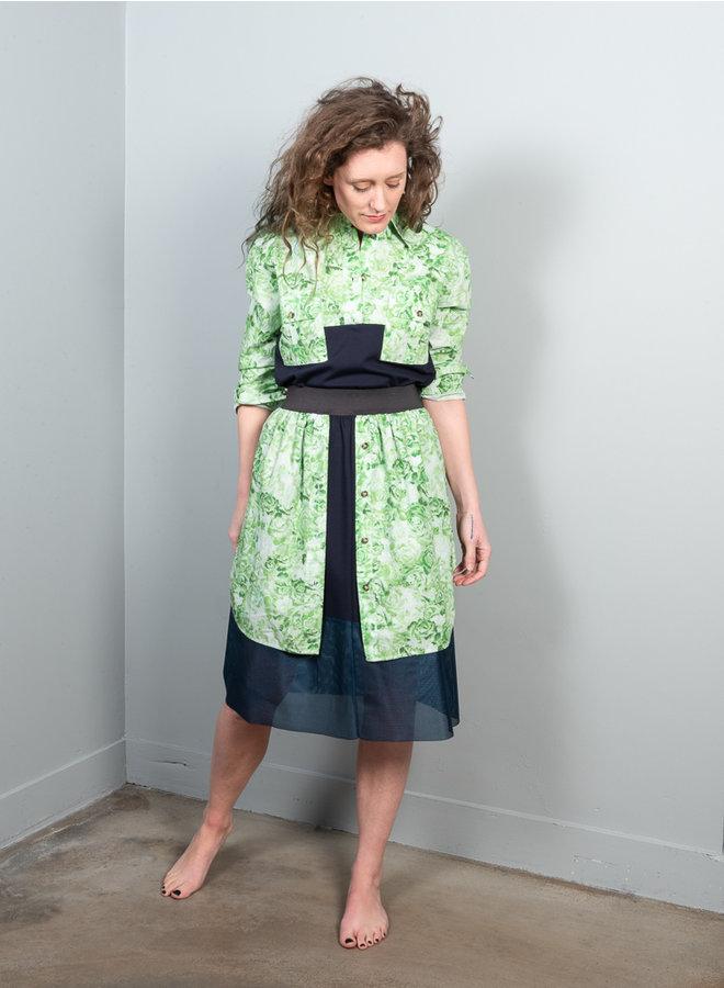 HCK-16 layered  skirt