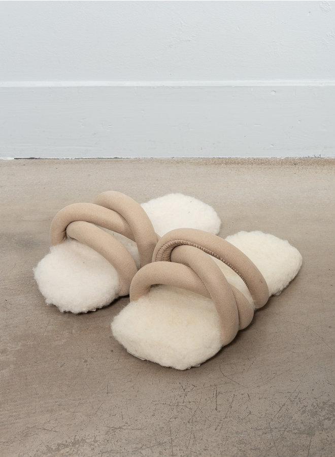Tyre  sandals slide wool