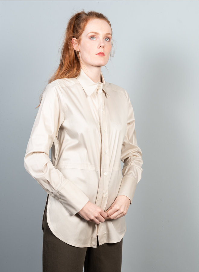 Slice shirt beige