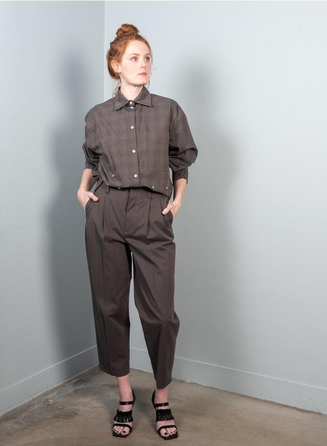 Slack trousers choco