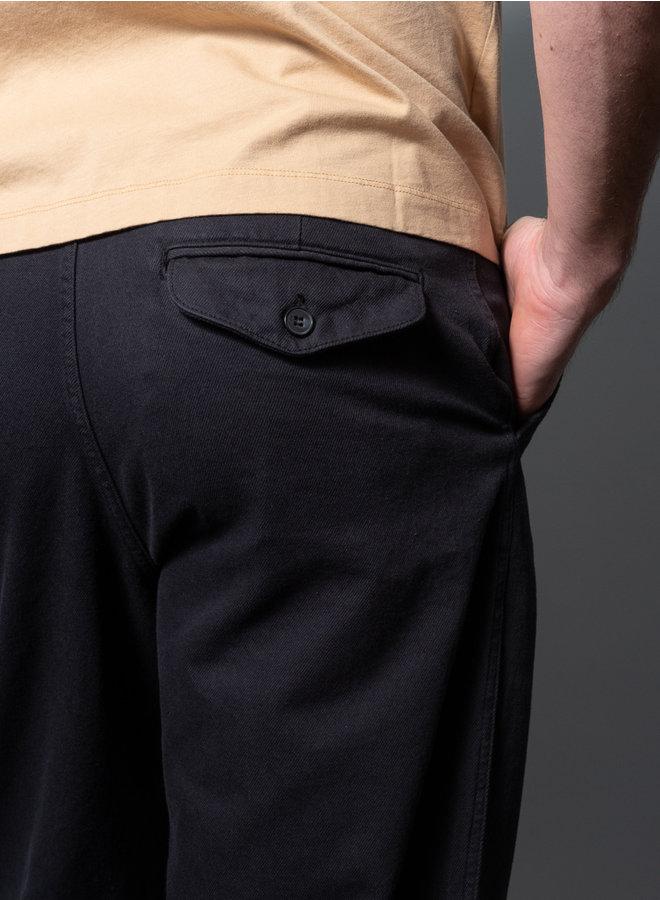 Van trouser faded zwart