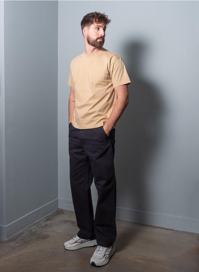 Set pocket t-shirt beige