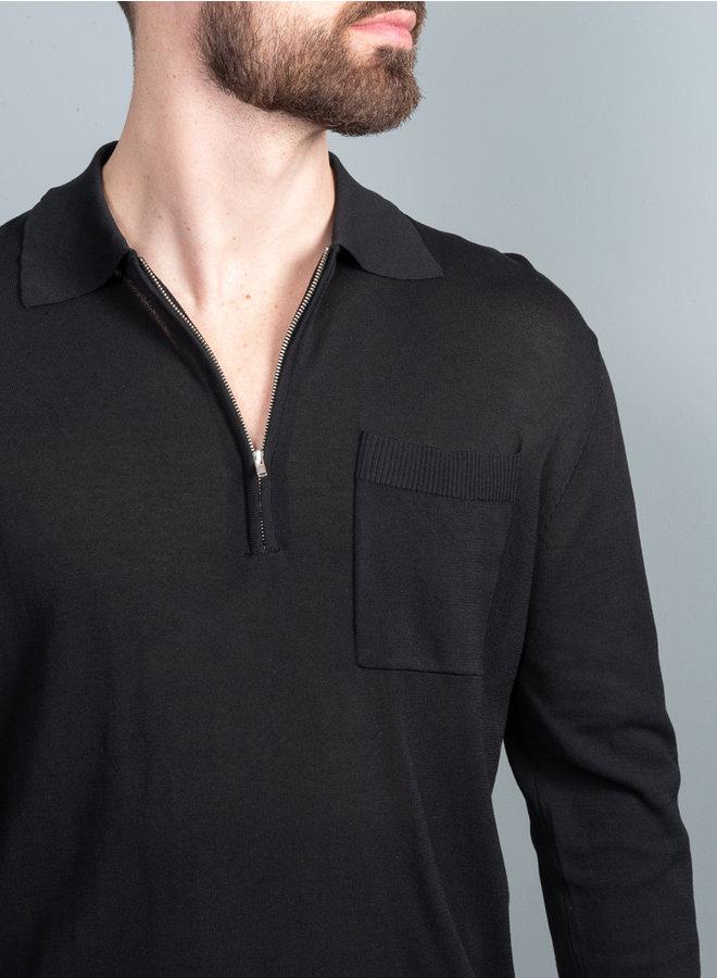 Slow sweater zwart
