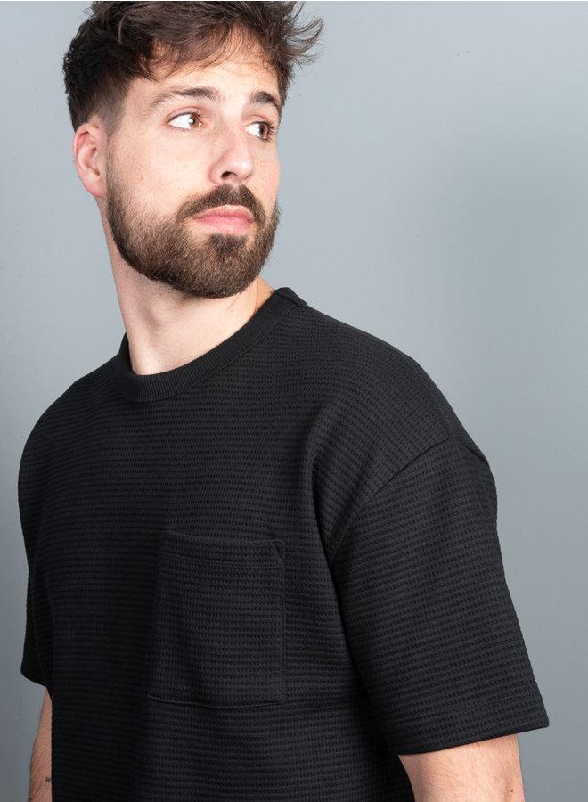 Ratano t-shirt zwart