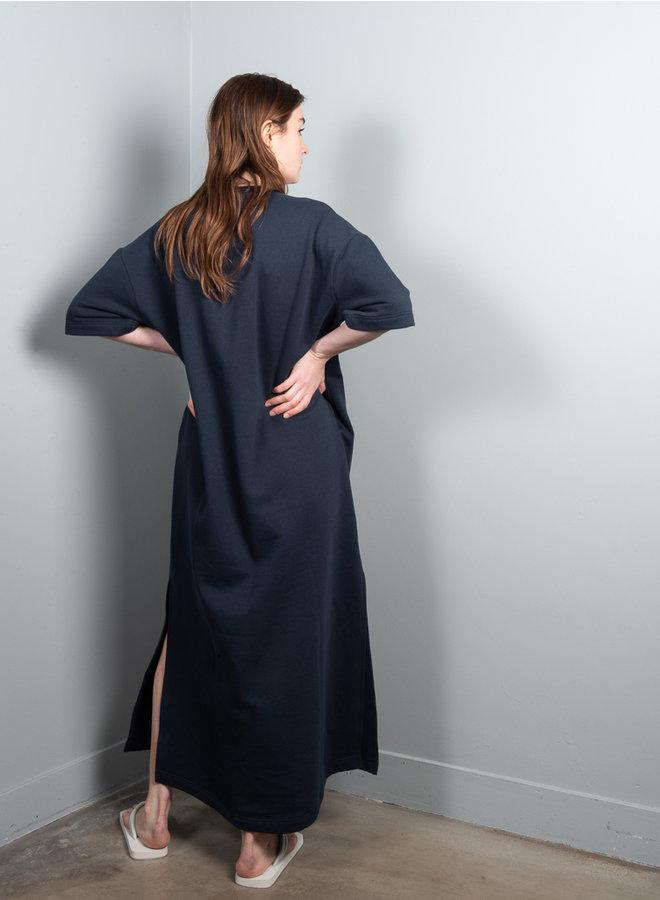 Peak jurk donkerblauw