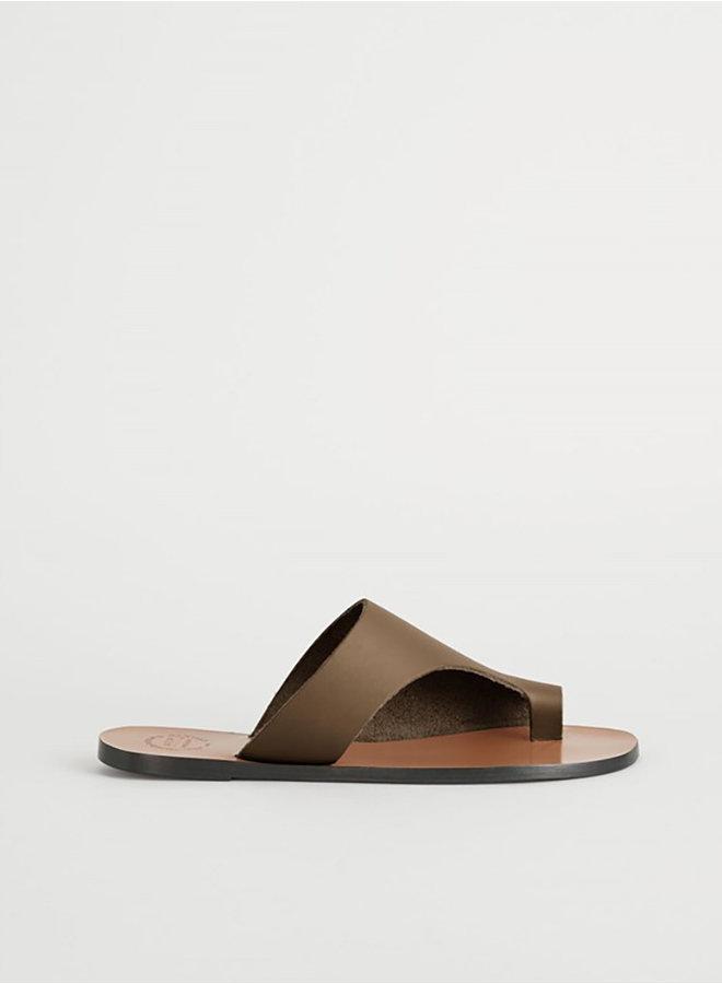 Rosa sandal khaki bruin