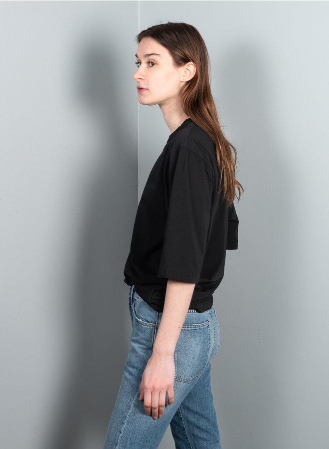 Buria t-shirt zwart