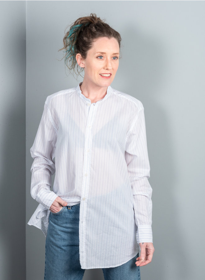 Tripoli blouse streep blauw