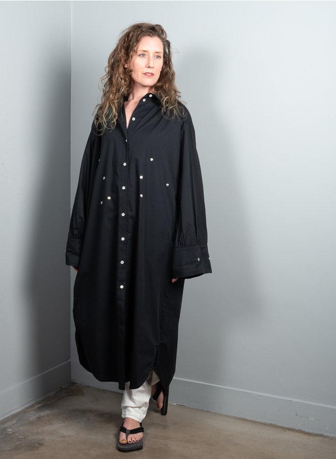Pike jurk zwart