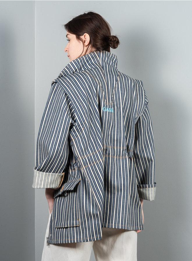 F5835 jas indigo stripe