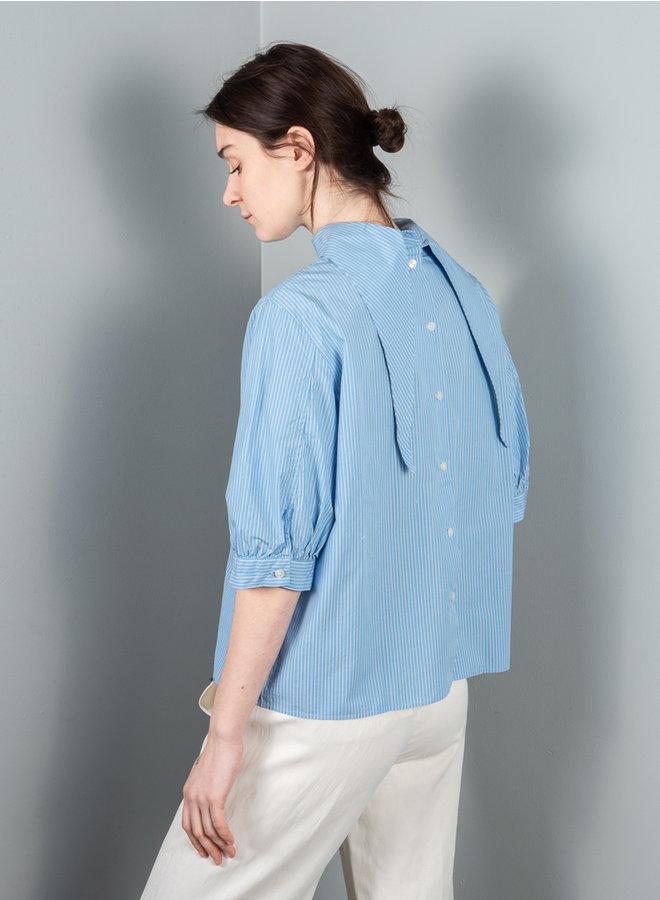Mallory blouse  blauw stripe