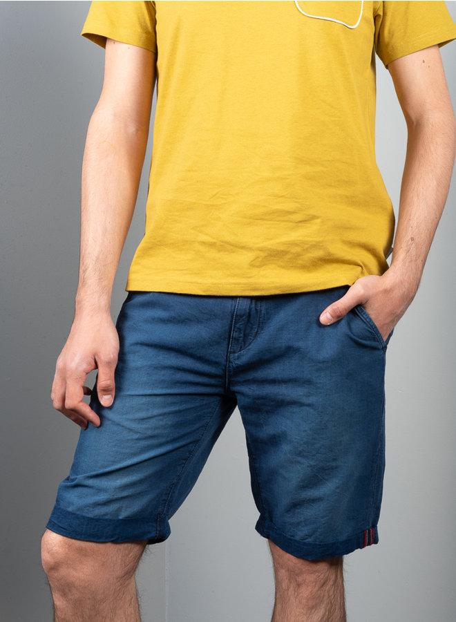 Teo fanning shorts indigo
