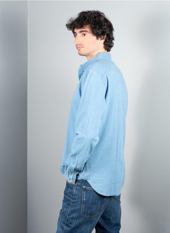 Brook shirt indigo