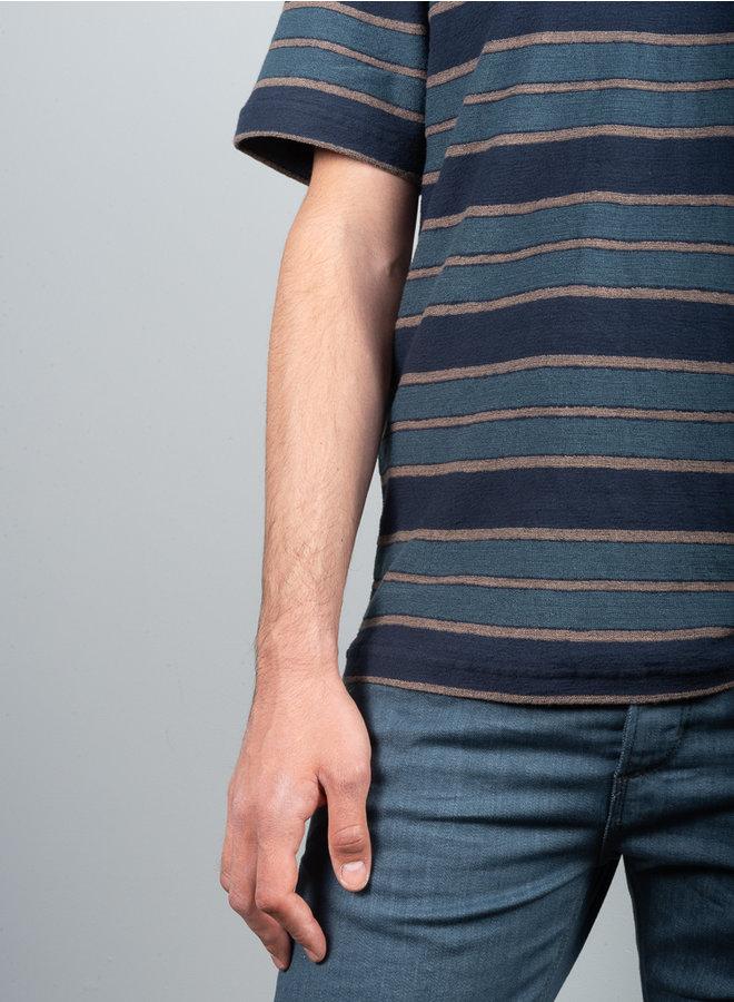 Katlego t-shirt blauw  dessin