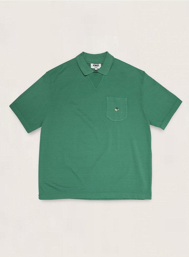P6QAO polo groen men