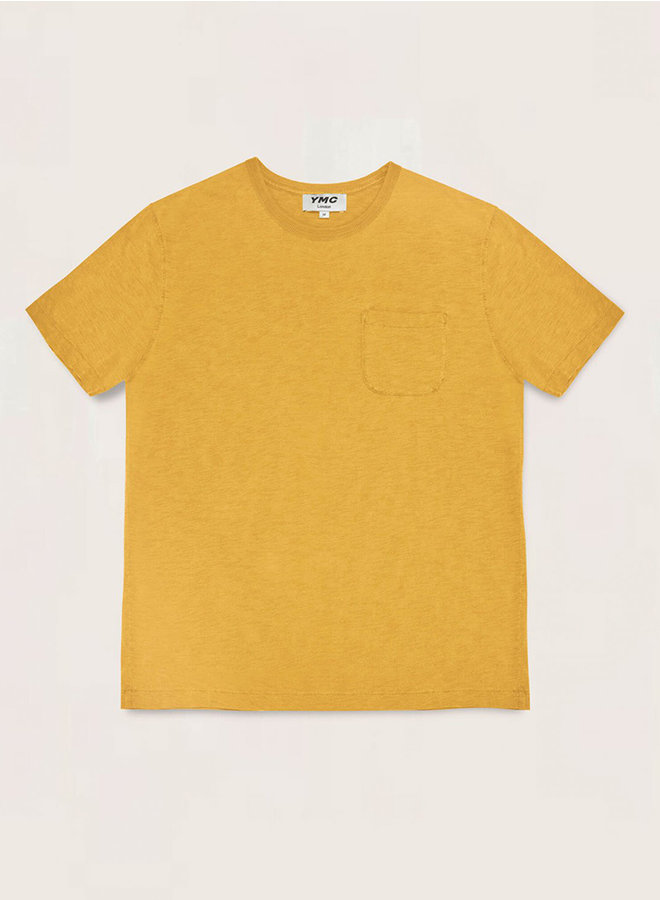 P6QAA t-shirt geel men