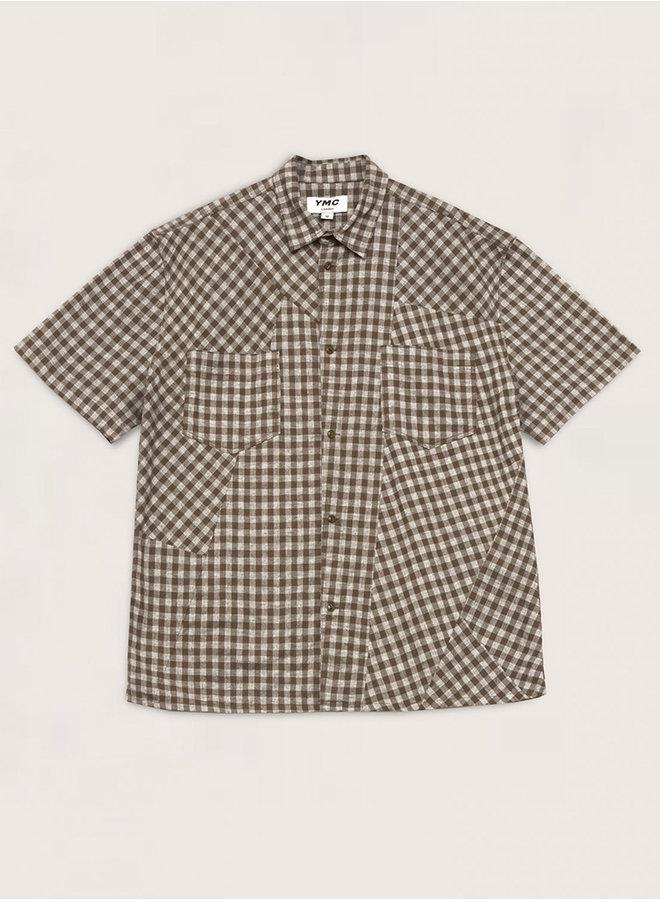 P2QAH shirt olijf men