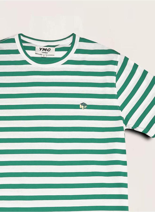 P6QAT t-shirt groen-ecru men