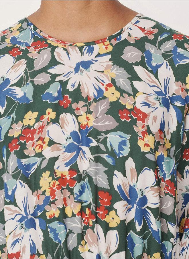 Q1QAA Jurk multi bloem women
