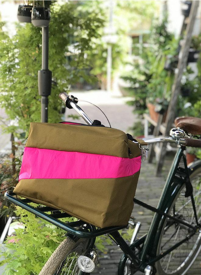 New 24/7 bag make/pink