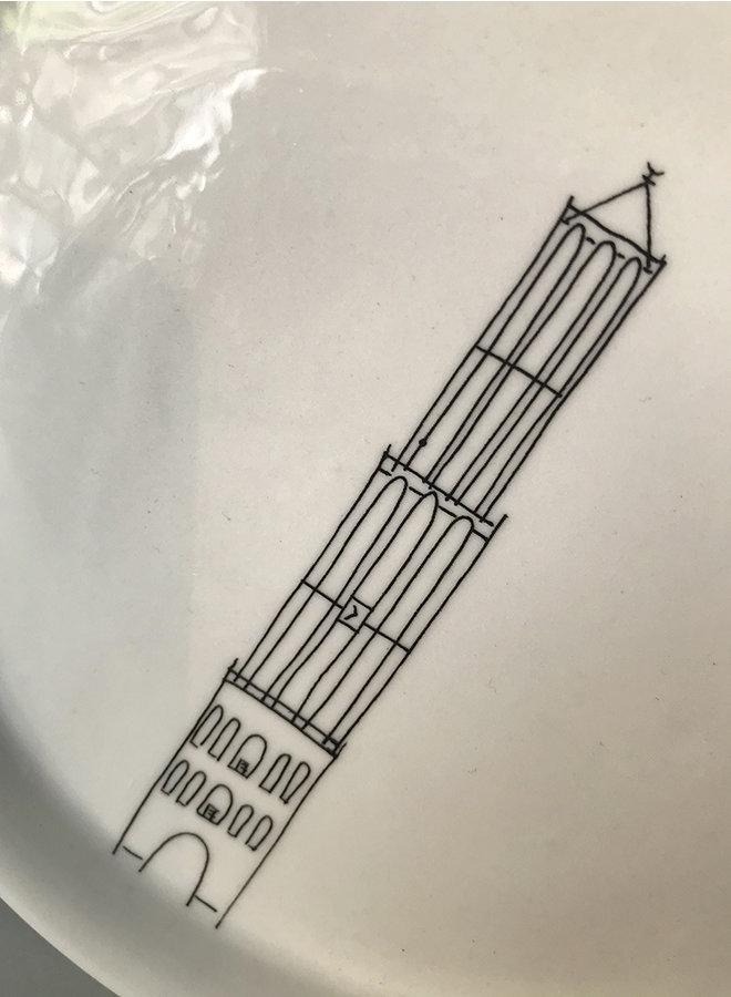Schotel Domtoren Wit