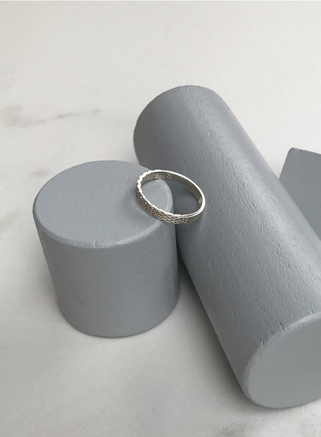 Ring Jr1 zilver