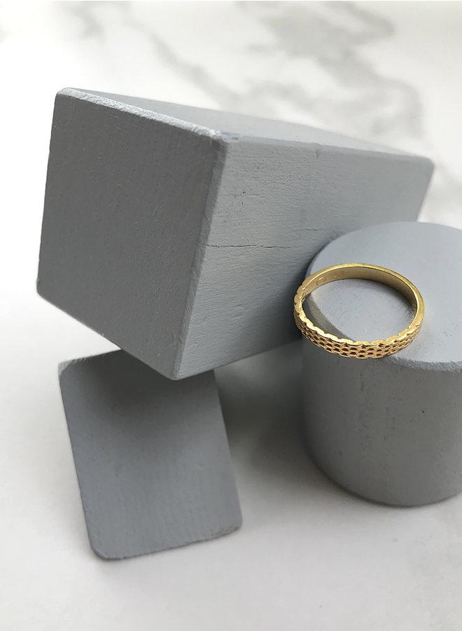 Ring Jr1 goud
