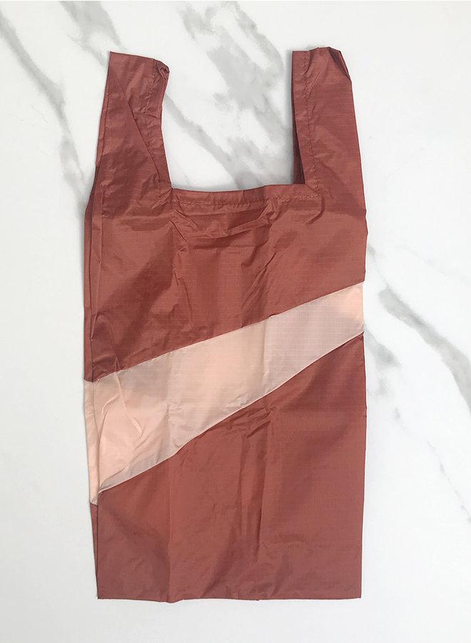 Shopping bag 'recollection' rust&powder M