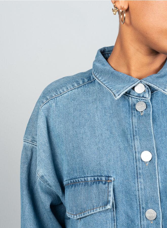 Raine blouse denim