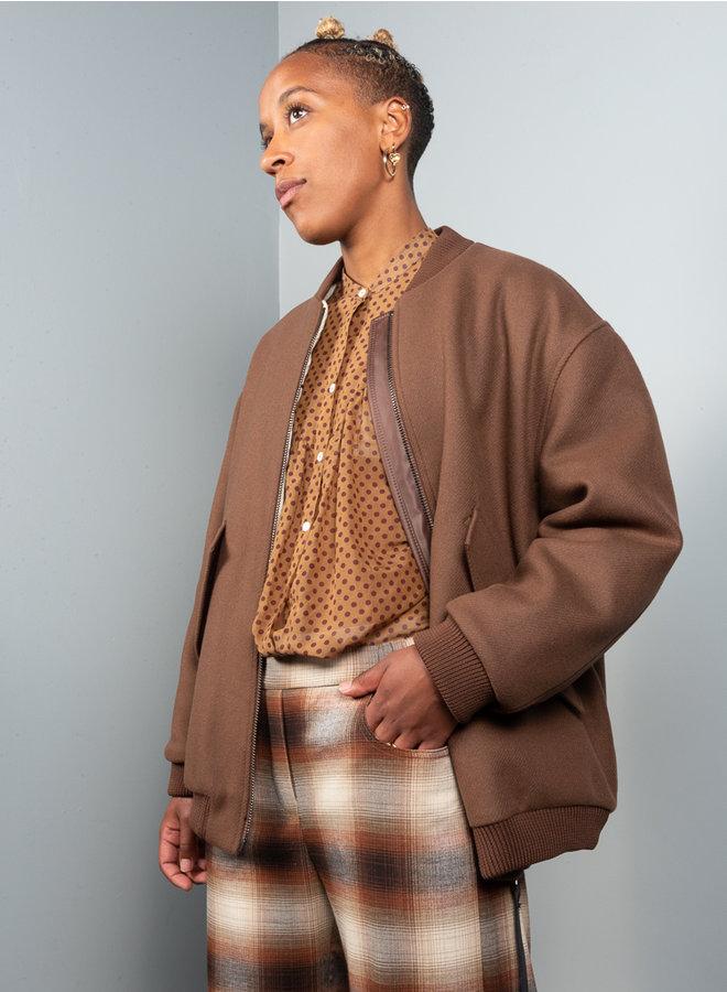 Catalia blouse bruin