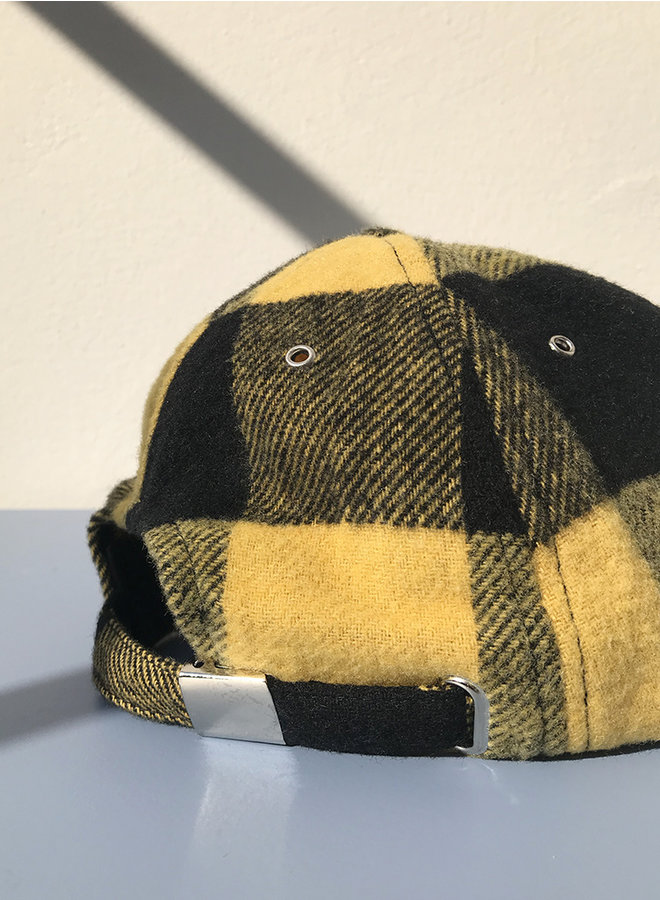 Baseball cap black/yellow