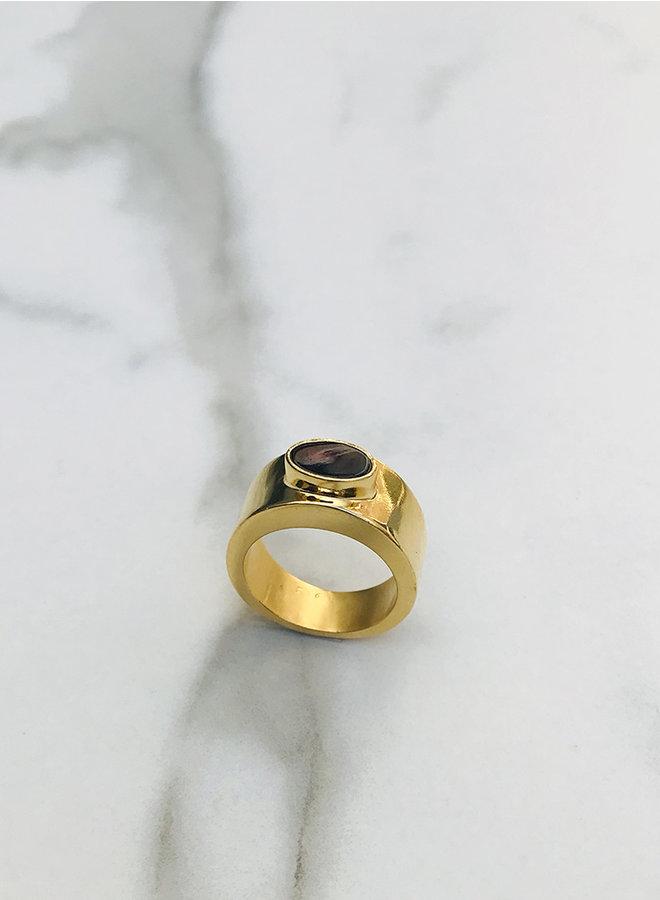 KR8 ring garnet