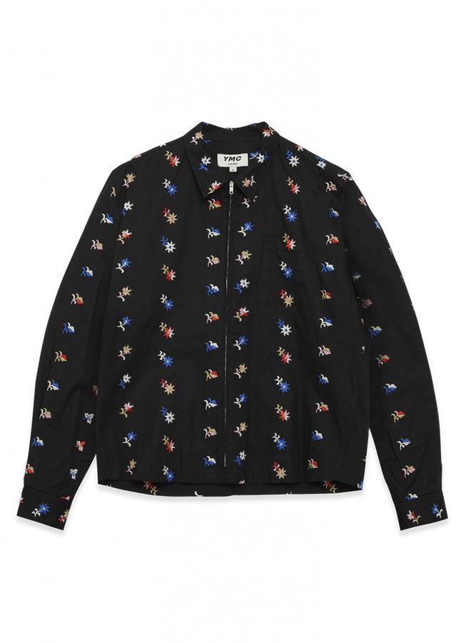 Bowie shirt black dessin