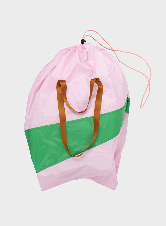 Trash bag XL pink & wena