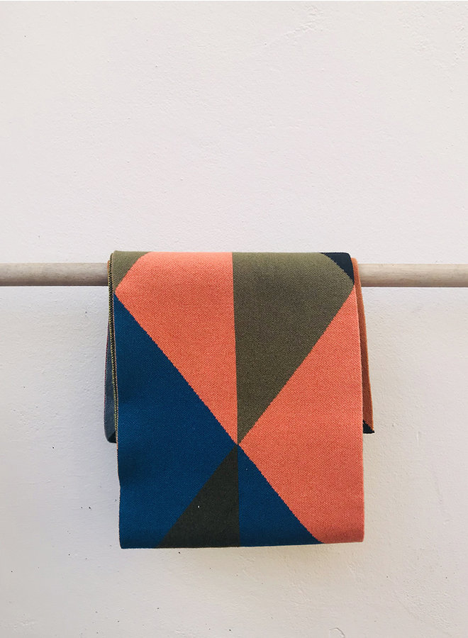 Triangle sjaal  multi colour