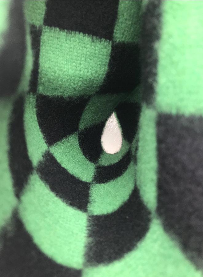 Check scarf green