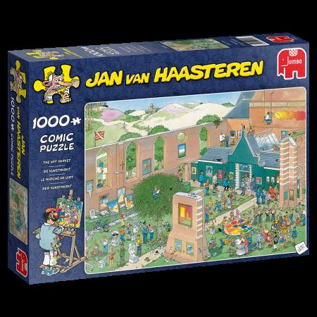 Jan van Haasteren De kunstmarkt - 1000 stukjes