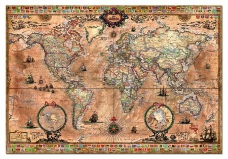 Educa Antique World Map - 1000 stukjes