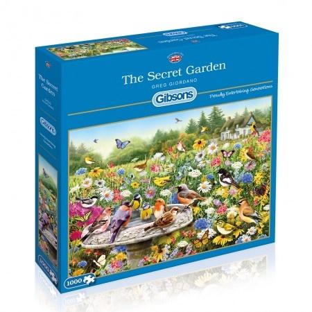 Gibsons The Secret Garden - 1000 stukjes