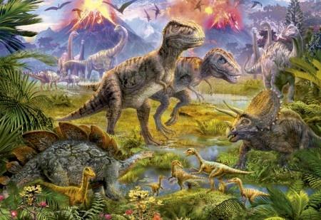 Educa Dinosaur Gathering - 500 stukjes