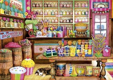 Educa The Candy Shop - 1000 stukjes
