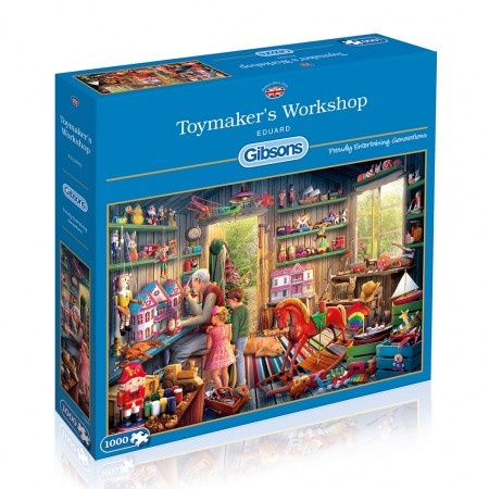 Gibsons Toymaker's Workshop - 1000 stukjes