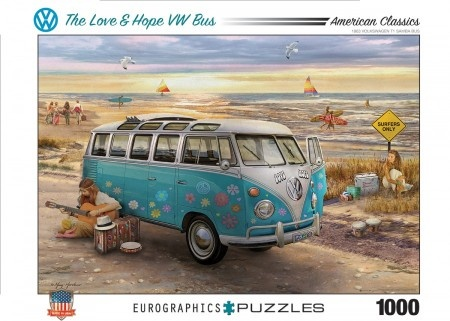 Eurographics The Love & Hope VW Bus - Greg Giordano