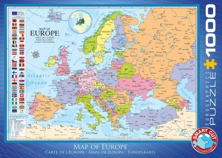 Eurographics Map of Europe