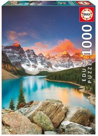 Educa Lake Moraine - Banff National Park Canada
