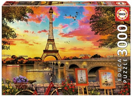 Educa Zonsondergang in Parijs