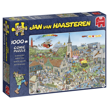 Jumbo Rondje Texel - Jan van Haasteren