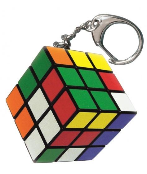 Jumbo Rubik's Cube sleutelhanger 3 x 3